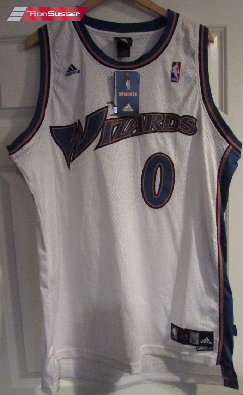 738fa721f NBA Washington Wizards Gilbert Arenas  0 Jersey Adult XL +2 by ...