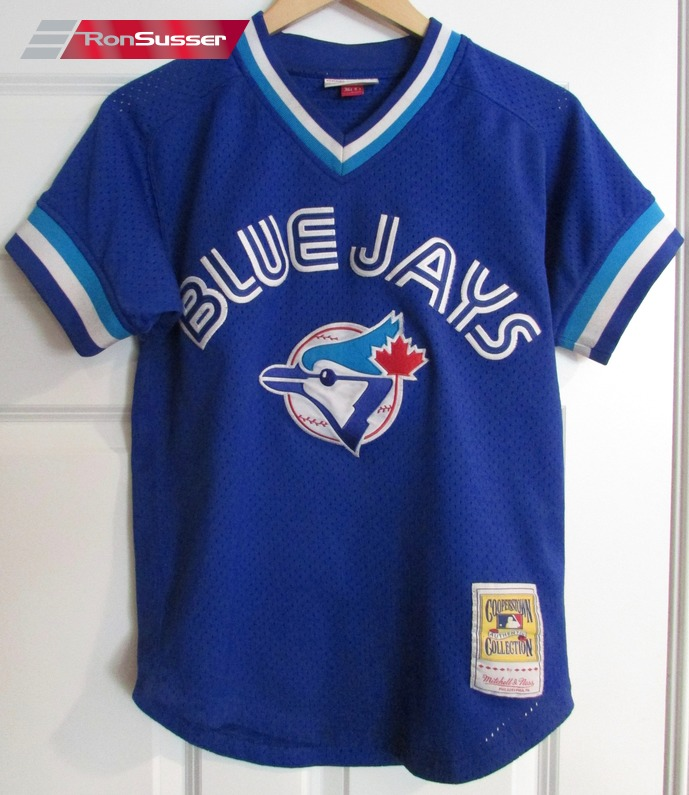 new product 2ccf3 d5ecf MLB Toronto Blue Jays #29 Joe Carter Mitchell Ness Jersey Sz ...