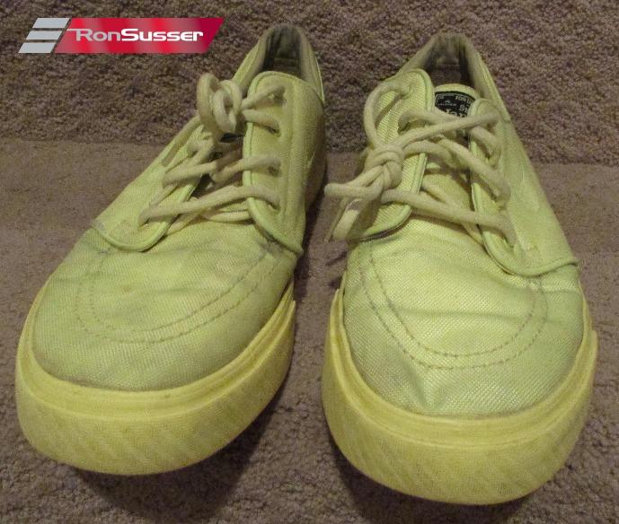 a5eaa3d01fadc5 Nike Mens Zoom Stefan Janoski Lemon Twist Volt Skateboard Shoes 333824-770  SZ 10