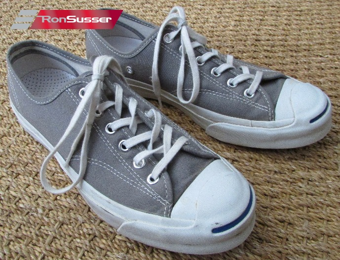 6150e37a7758 CONVERSE Unisex Jack Purcell Low OX Gray Sneakers  147562C 6.5 Men 8 Women