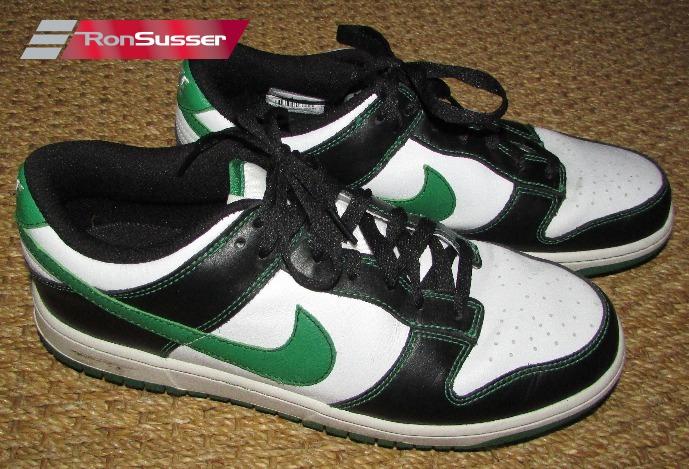 brand new 5dc53 bd7c9 Nike Mens Dunk NG Golf Shoes White Black Green  484294-100 Size 9.5 EUC