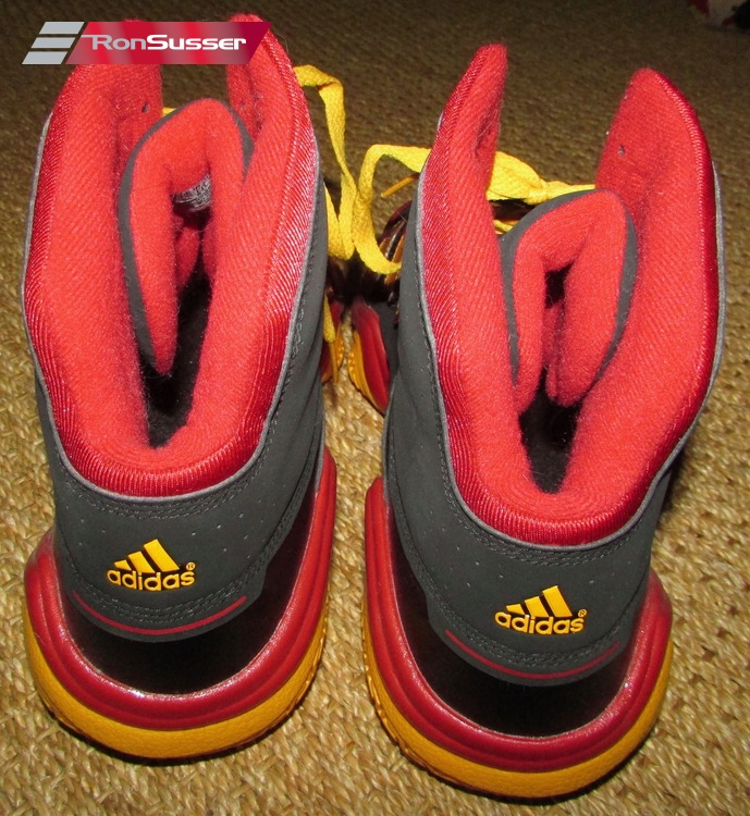 Details about Adidas Powercrush G21107 Size 14 SchwarzRotGold Basketballschuhe