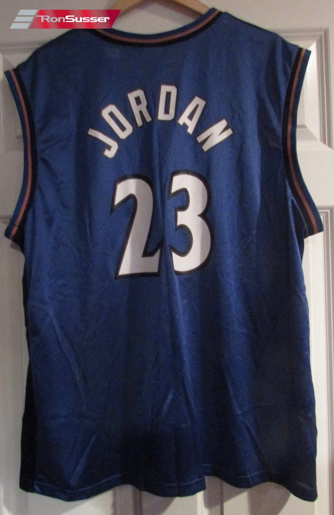d5fd16f77 NBA Champion Washington Wizards Michael Jordan Jersey 23 Sz 44 Large ...