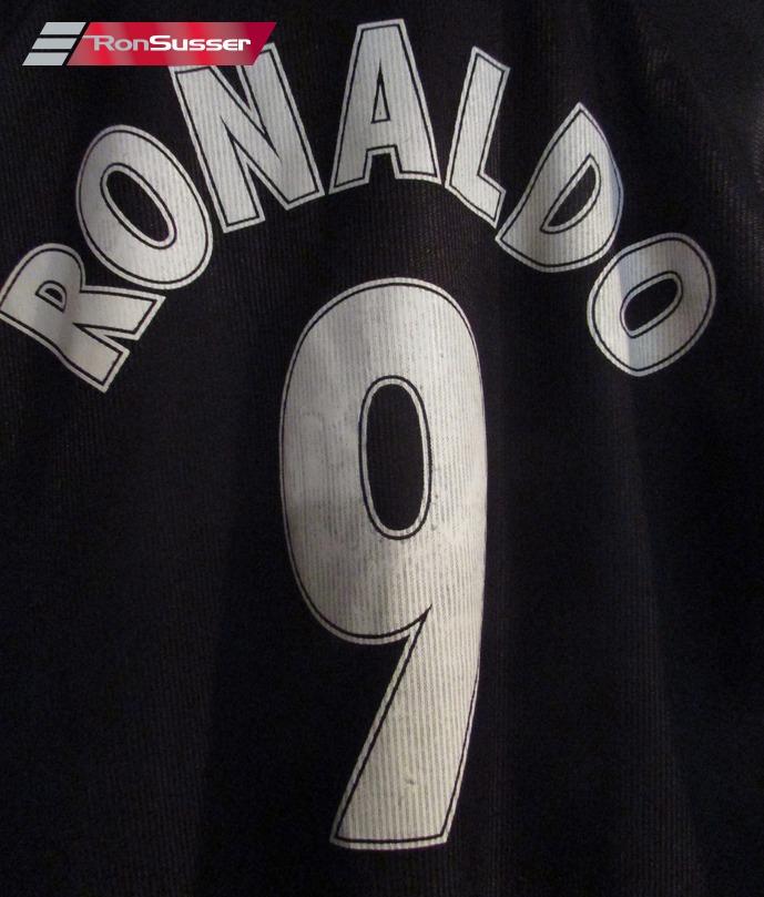 4c5448763 Ronaldo  9 Football Soccer Inter Milan FC Jersey Shirt Pirelli Large ...