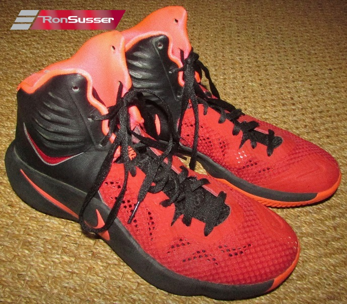 Muslo once pantalones  Nike Zoom Hyperfuse 2014 Mens Basketball Shoes Black Red 684591-066 Size 11    eBay