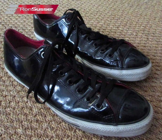 Converse CT Black Patent Leather Ox