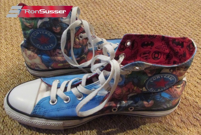 Details about Converse All Stars Chuck Taylor Hi Top Sneakers #131298F Justice League 9M 11W