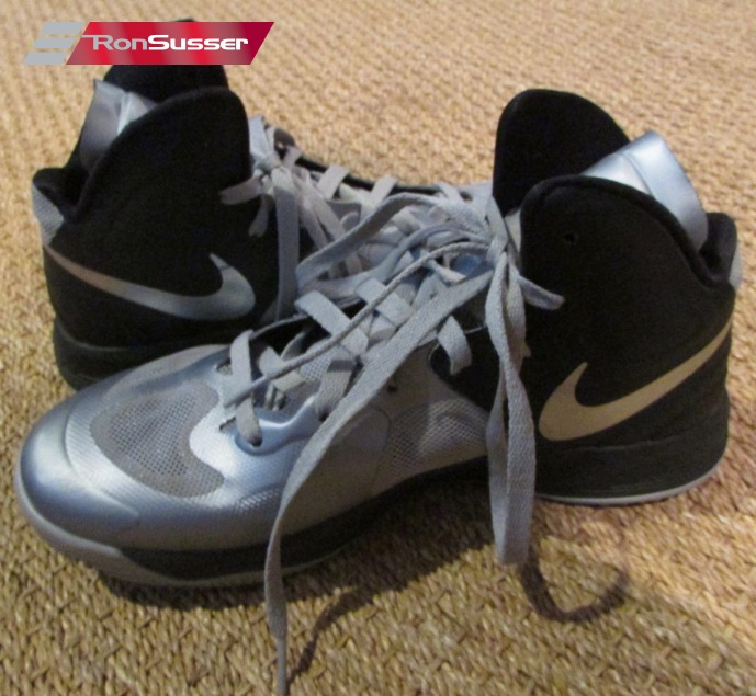 Nike Hyperfuse (BLK GREY SILVER) 525022-003 - Men s Basketball Shoes Size 8 97d5116b1