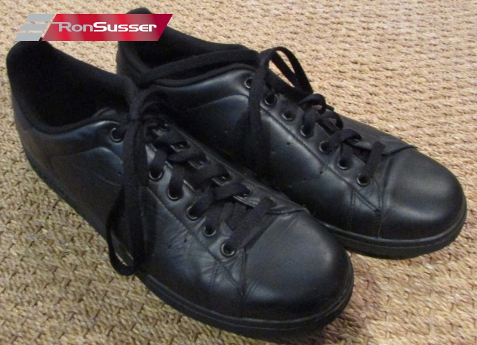 photos officielles e1751 69ce7 Details about Adidas Stan Smith 2 Triple Black Tennis Shoes Sneakers Size  13 G17076