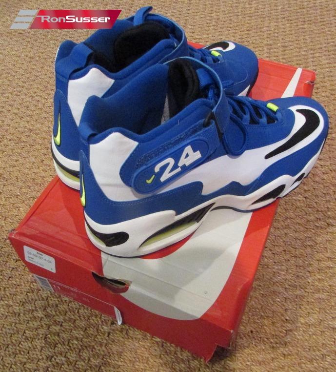 ed865461a2 Nike Air Griffey Max 1 Varsity Royal Blue White Volt 354912-400 Size 11 NEW