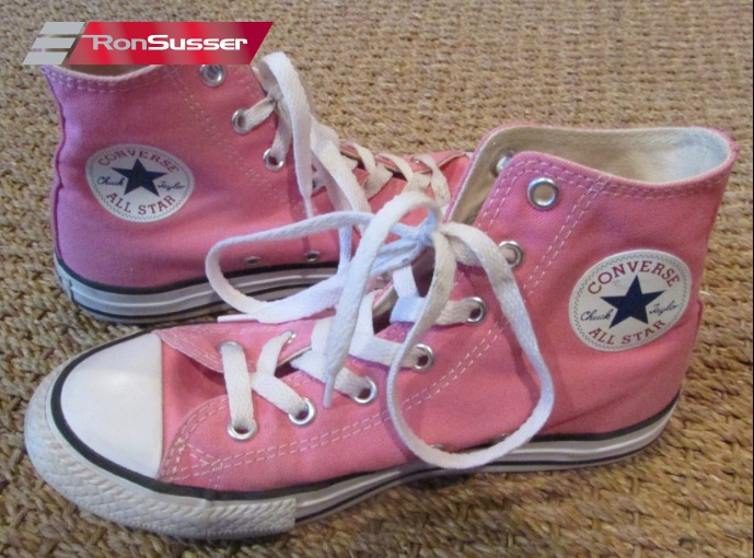Converse CT All Stars Pink High Top