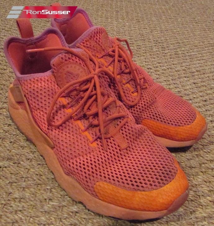d2a5bcd8f7e2 Nike Air Huarache Run Ultra Shoes 833292-800 Crimson Orange Sz 12