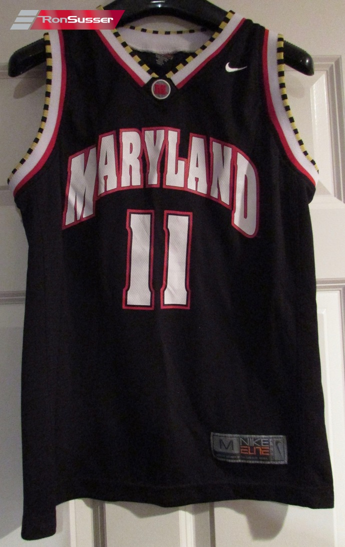 promo code 889ac 3b416 Details about NCAA University of Maryland Terps Terrapins #11 Basketball  Jersey Youth Med