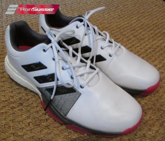 Black/Shock Pink Golf Shoes Q44766 Size