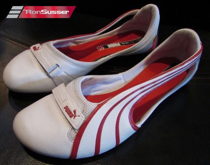 140d9b4485ce1 PUMA Ferrari Espera Ballerinas SF NU Ladies Flats Driving Shoes 303418 02  Size 10 EUC