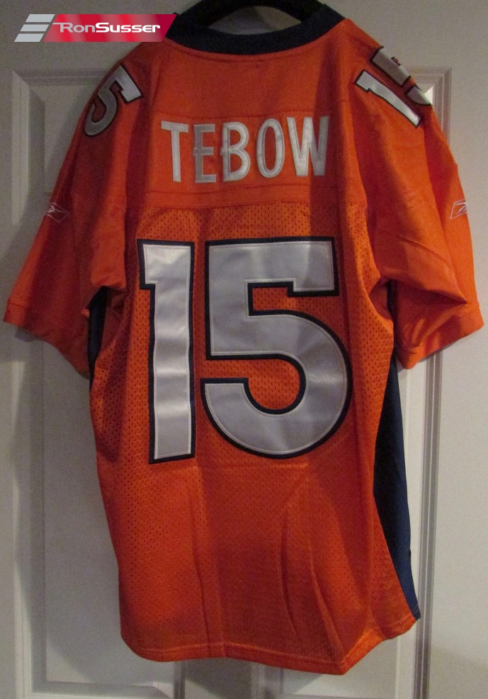 the latest 8a315 02840 NFL Denver Bronco Tim Tebow #15 Jersey by Reebok Size 52 ...