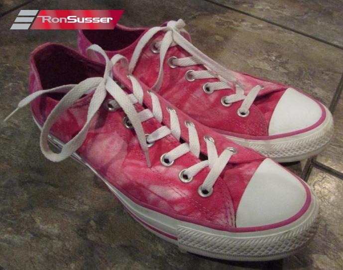 Pink Tie Dye Low 142455F Sz 7Men 9