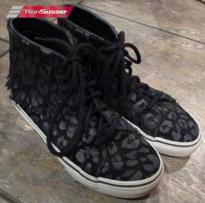 Vans Kids High Tops Black Sneakers