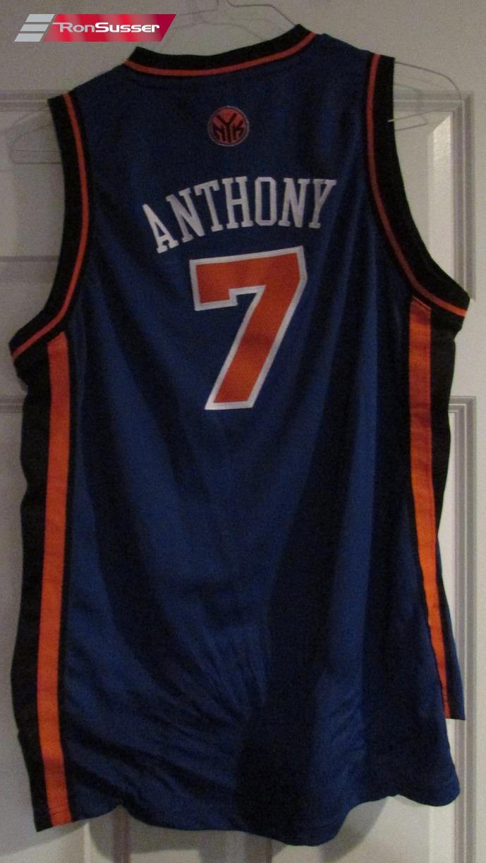 Adidas NBA New York Knicks #7 Carmello Anthony Home Jersey Youth ...