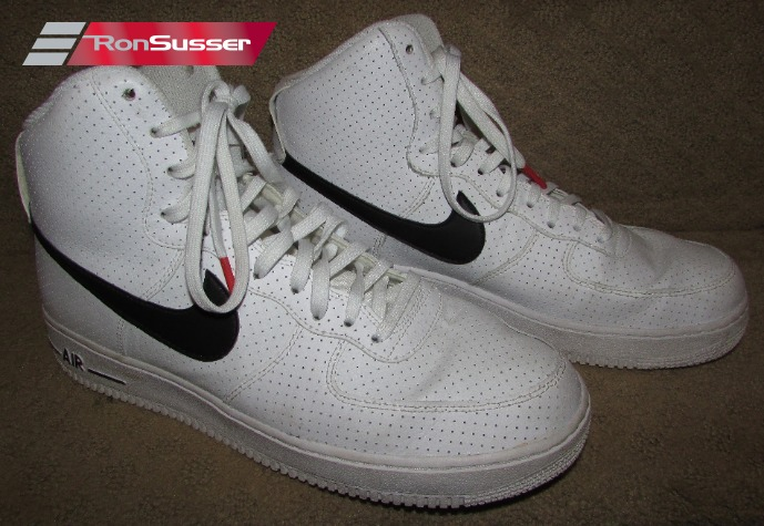 nike air force 1 high tops with the strap