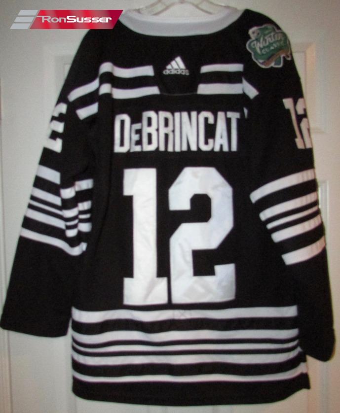 NHL Chicago Blackhawks Alex DeBrincat #12 Winter Classic Jersey by ...