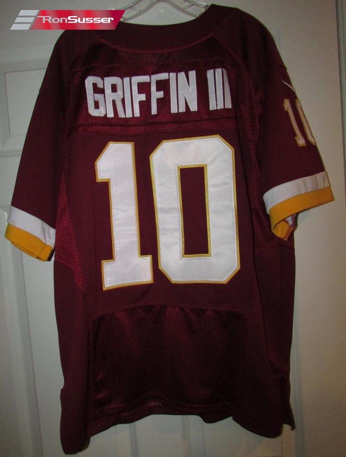 NFL Washington Redskins Robert Griffin III RG3 Jersey Size 48 by ...