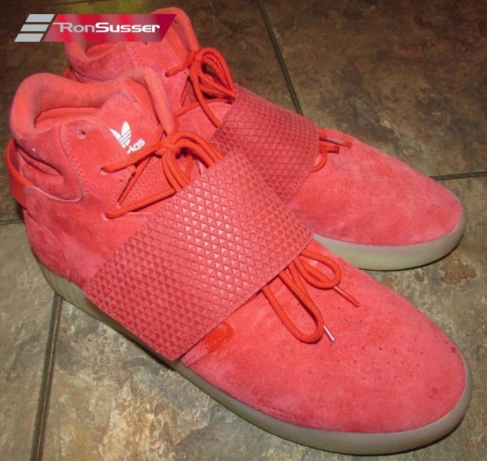 Adidas Mens Red Tubular Invader Strap Shoes Size 11.5 #BB5039 | eBay