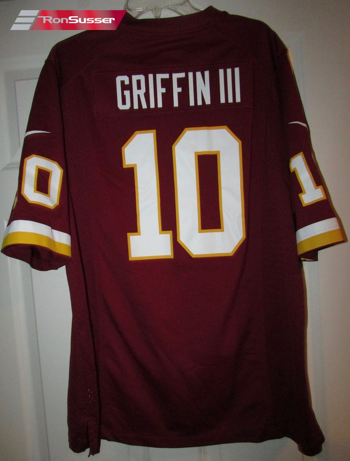 NFL Washington Redskins Robert Griffin III RG3 Jersey Size Large ...